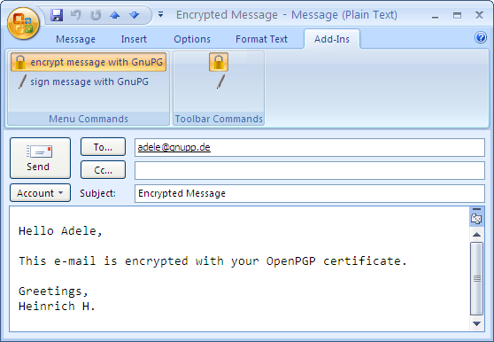 Gpg4win compendium 12 encrypting e mails