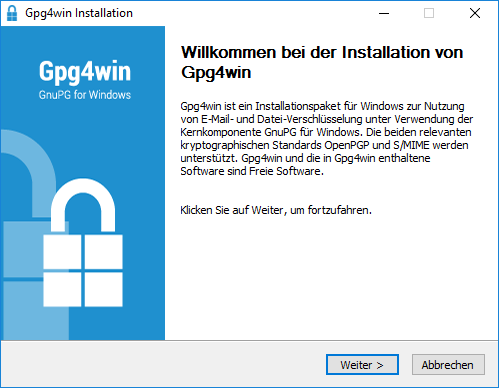 Windows 7 Gpg4win 3.1.7 full